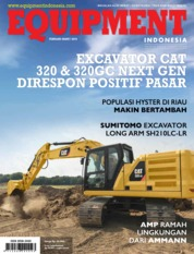 Cover Majalah EQUIPMENT Indonesia Februari 2019