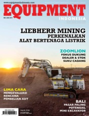 Cover Majalah EQUIPMENT Indonesia Mei 2019