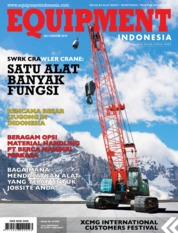 Cover Majalah EQUIPMENT Indonesia Juli 2019