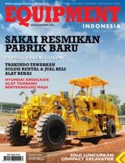 Cover Majalah EQUIPMENT Indonesia Agustus 2019