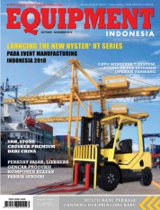 Cover Majalah EQUIPMENT Indonesia Oktober 2019