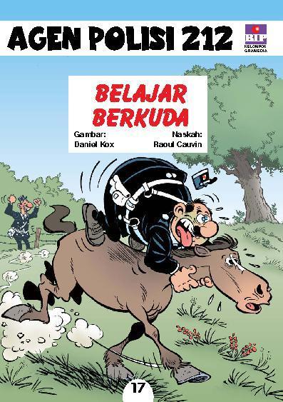 Buku Digital Seri Agen Polisi 212 No.17: Belajar Berkuda oleh Raoul Cauvin