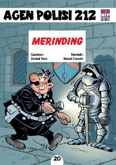Buku Digital Seri Agen Polisi 212 No.20: Merinding oleh Raoul Cauvin