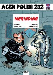 Cover Seri Agen Polisi 212 No.20: Merinding oleh
