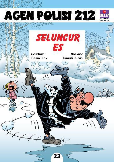 Buku Digital Seri Agen Polisi 212 No.23: Seluncur Es oleh Raoul Cauvin