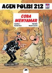 Seri Agen Polisi 212 No.24: Coba Menyamar by Cover