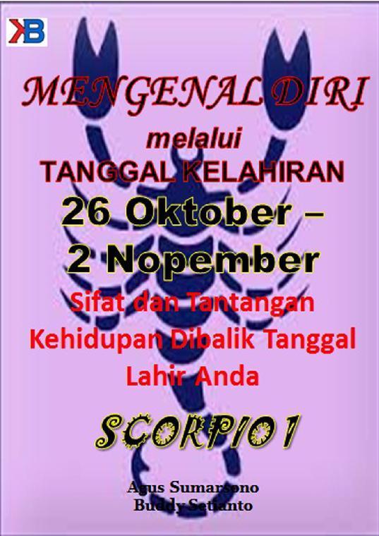 Buku Digital Scorpio I 26 Oktober - 2 November oleh Agus Sumarsono
