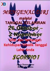 Cover Scorpio I 26 Oktober - 2 November oleh Agus Sumarsono