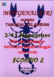 Cover Scorpio II 3 - 11 November oleh Agus Sumarsono