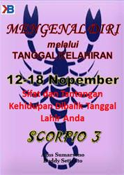 Cover Scorpio III 12 - 18 November oleh Buddy Setianto