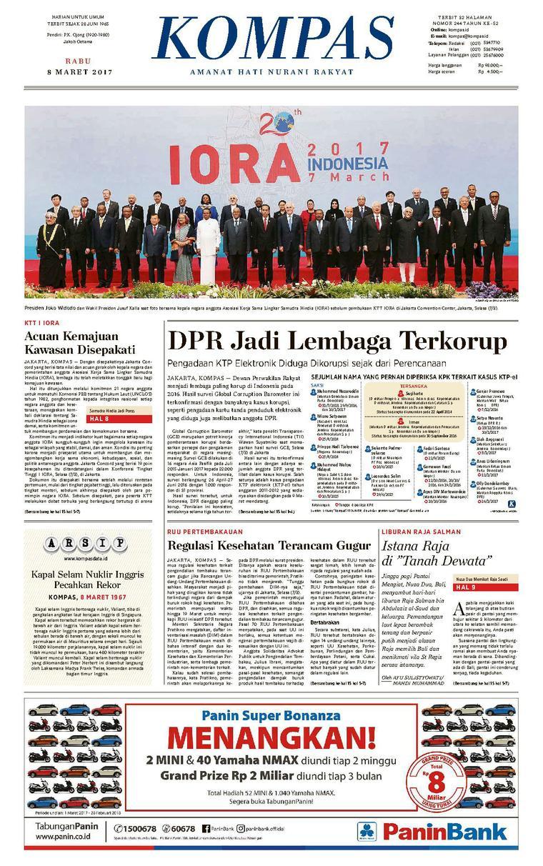 Koran Digital KOMPAS [Pagi] 08 Maret 2017