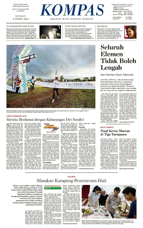 Koran Digital KOMPAS [Pagi] 09 April 2017