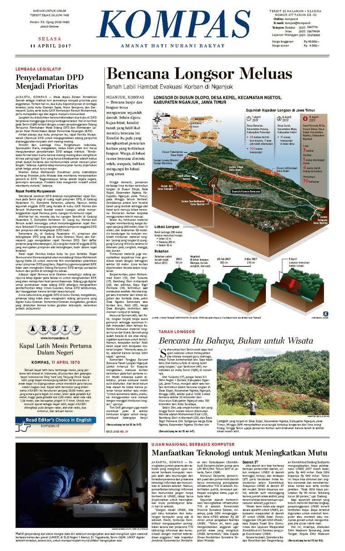 Koran Digital KOMPAS [Pagi] 11 April 2017