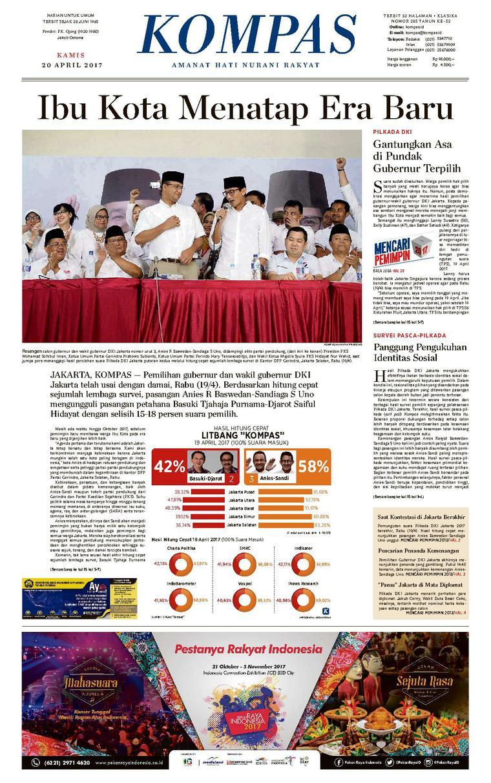 Koran Digital KOMPAS [Pagi] 20 April 2017