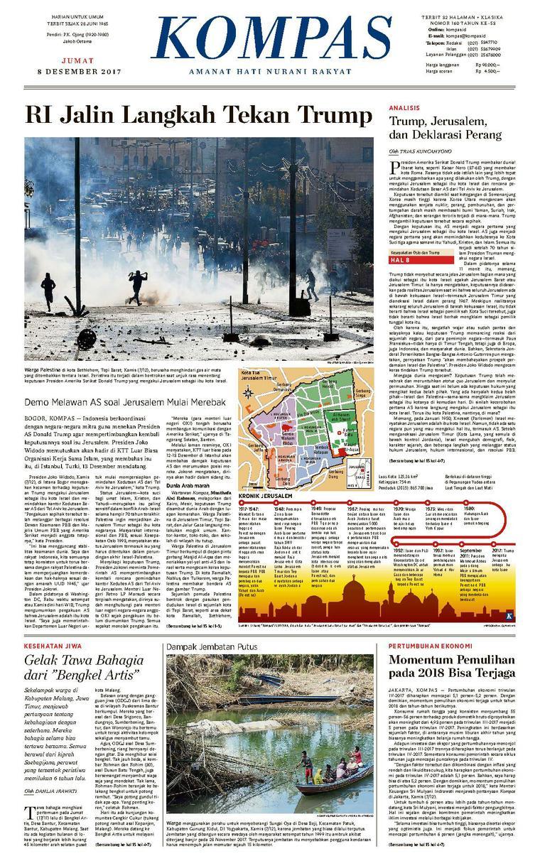Koran Digital KOMPAS [Pagi] 08 Desember 2017