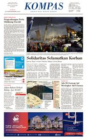 KOMPAS Cover [Pagi] 22 September 2017