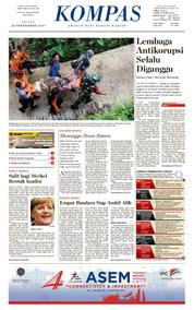 KOMPAS Cover [Pagi] 26 September 2017