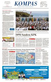 KOMPAS Cover [Pagi] 27 September 2017