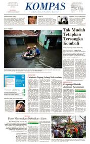 KOMPAS Cover [Pagi] 01 October 2017