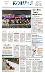 KOMPAS Cover [Pagi] 03 October 2017