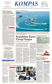 KOMPAS Cover [Pagi] 04 October 2017