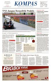 KOMPAS Cover [Pagi] 06 October 2017
