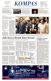 KOMPAS Cover [Pagi] 07 October 2017