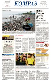 KOMPAS Cover [Pagi] 11 October 2017
