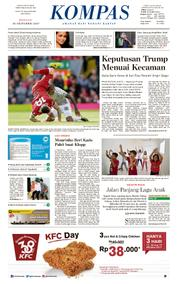 KOMPAS Cover [Pagi] 15 October 2017