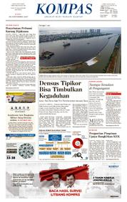 KOMPAS Cover [Pagi] 18 October 2017