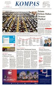 KOMPAS Cover [Pagi] 19 October 2017