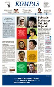 KOMPAS Cover [Pagi] 03 January 2018