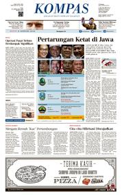 KOMPAS Cover [Pagi] 08 January 2018