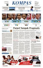KOMPAS Cover [Pagi] 11 January 2018