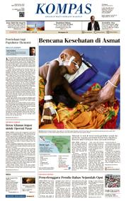 KOMPAS Cover [Pagi] 13 January 2018