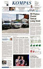 KOMPAS Cover [Pagi] 20 March 2018