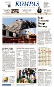 Cover KOMPAS [Pagi] 24 Maret 2018
