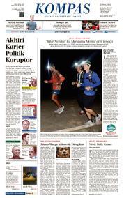 KOMPAS Cover [Pagi] 06 April 2018