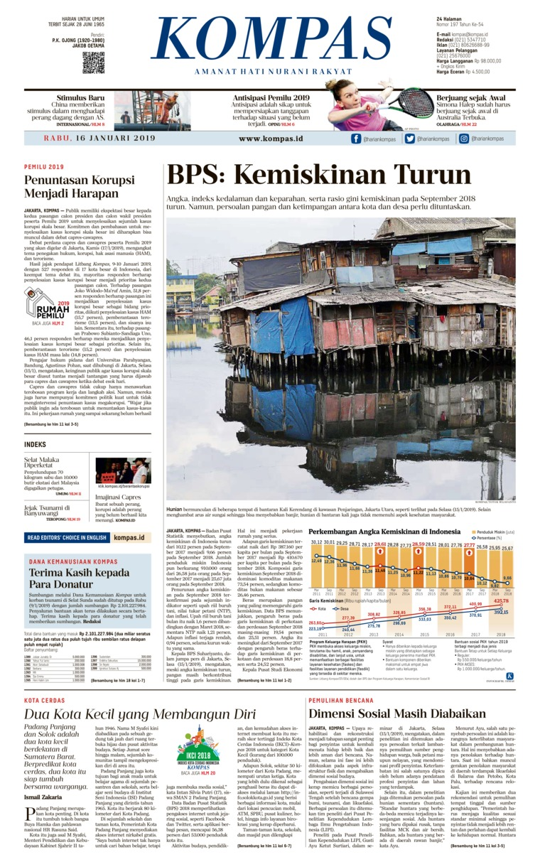 Koran Digital KOMPAS 16 Januari 2019