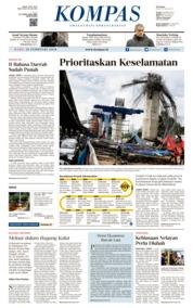 KOMPAS Cover [Pagi] 21 February 2018