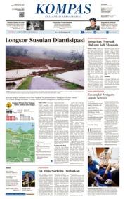 KOMPAS Cover [Pagi] 23 February 2018