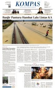 KOMPAS Cover [Pagi] 25 February 2018