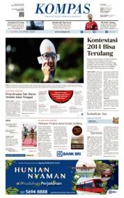 KOMPAS Cover 12 April 2018