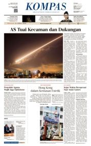 KOMPAS Cover 15 April 2018