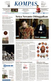 Cover KOMPAS 25 April 2018