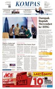 Cover KOMPAS 27 April 2018