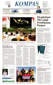 KOMPAS Cover 19 May 2018