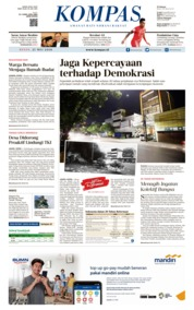 KOMPAS Cover 21 May 2018