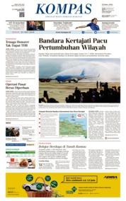 KOMPAS Cover 25 May 2018