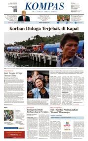 Cover KOMPAS 22 Juni 2018